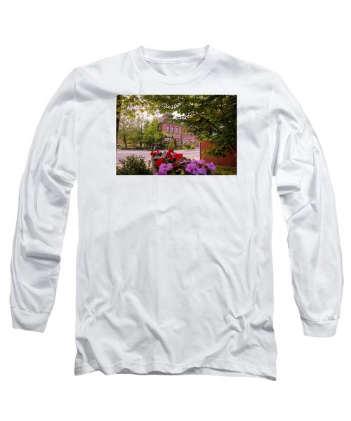Old Fire Station Easthampton, Ma Long Sleeve T-Shirt