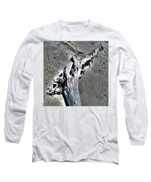 Old Footprints Of Time Long Sleeve T-Shirt