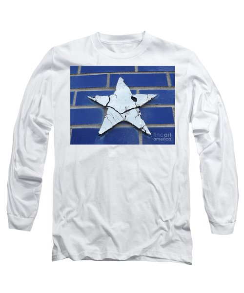 Old Glorys Star Long Sleeve T-Shirt by Erick Schmidt