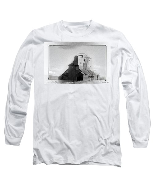 Old Grain Elevator Long Sleeve T-Shirt