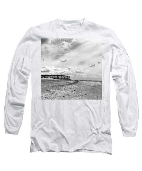 Old Hunstanton Beach, Norfolk Long Sleeve T-Shirt by John Edwards