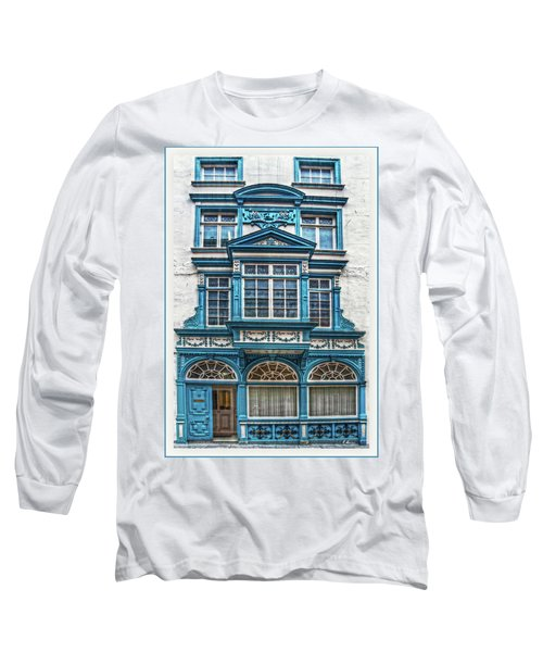 Long Sleeve T-Shirt featuring the digital art Old Irish Architecture by Hanny Heim