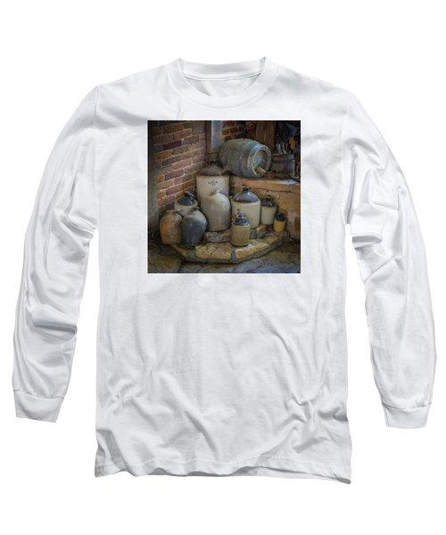 Old Jugs Color - Dsc08891 Long Sleeve T-Shirt
