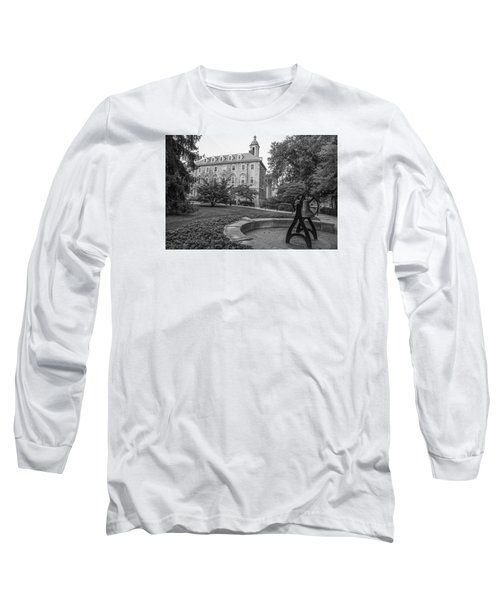 Old Main Penn State University  Long Sleeve T-Shirt by John McGraw