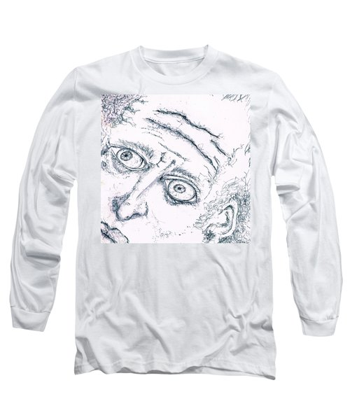 Old Man  Long Sleeve T-Shirt by Dan Twyman