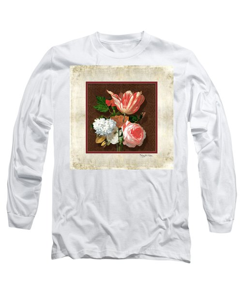 Old Masters Reimagined - Parrot Tulip Long Sleeve T-Shirt