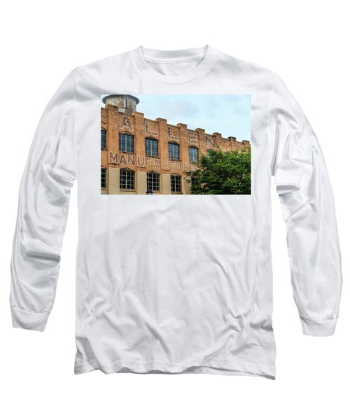 Old Mill Building In Buford Long Sleeve T-Shirt