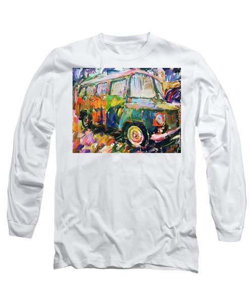 Old Paint Car Long Sleeve T-Shirt