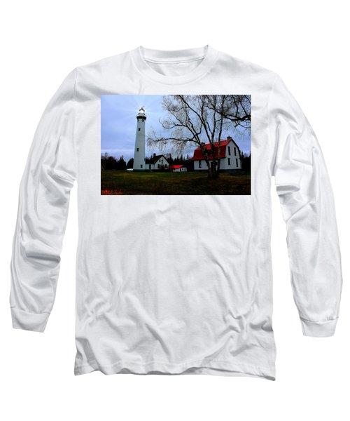 Old Presque Isle Lighthouse Long Sleeve T-Shirt