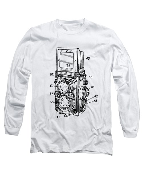 Old Rollie Vintage Camera T-shirt Long Sleeve T-Shirt
