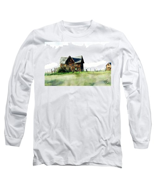 Old Sagging House Long Sleeve T-Shirt