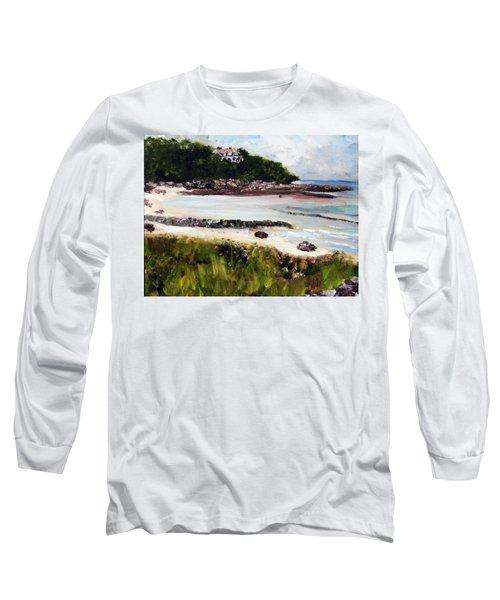 Old Silver Beach Falmouth Long Sleeve T-Shirt