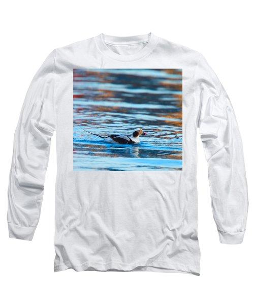 Old Squaw At Dawn Long Sleeve T-Shirt