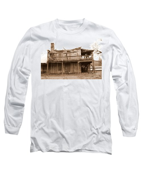 Old Stagecoach Stop Long Sleeve T-Shirt by Marie Neder
