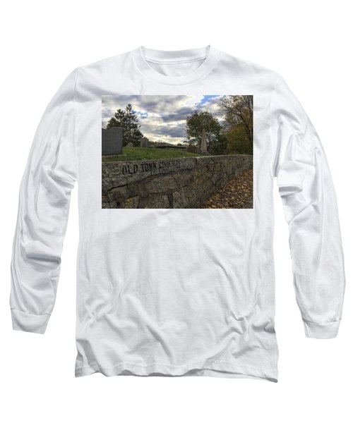 Old Town Cemetery Long Sleeve T-Shirt