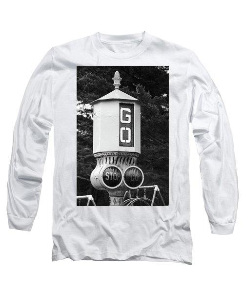 Old Traffic Light Long Sleeve T-Shirt
