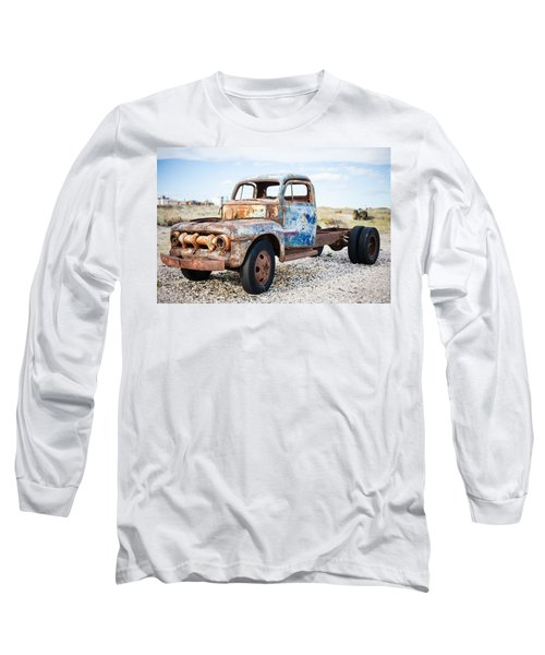 Long Sleeve T-Shirt featuring the photograph Old Truck by Silvia Bruno