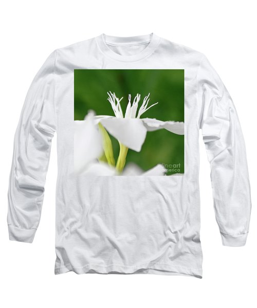 Long Sleeve T-Shirt featuring the photograph Oleander Ed Barr 2 by Wilhelm Hufnagl
