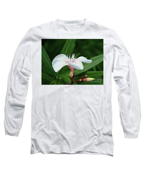 Oleander Harriet Newding  1 Long Sleeve T-Shirt by Wilhelm Hufnagl