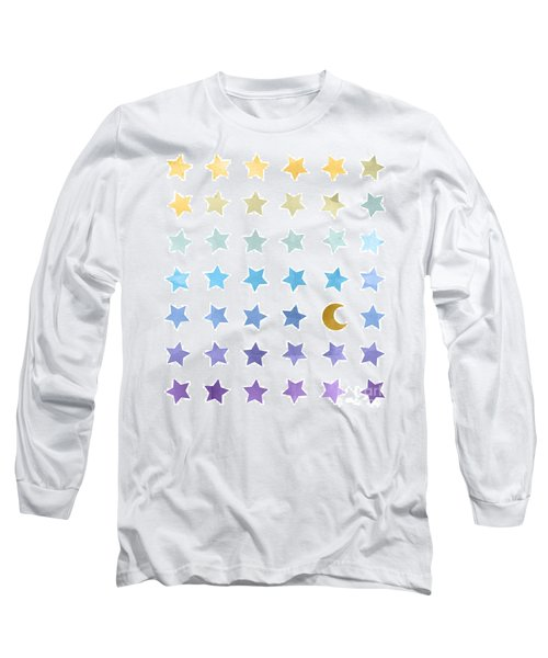 Ombre Cosmos Long Sleeve T-Shirt by Whitney Morton