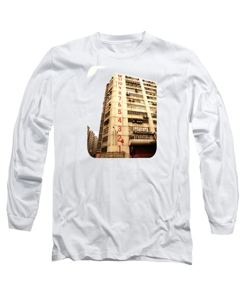 On A Dozen Different Levels Long Sleeve T-Shirt by Ethna Gillespie