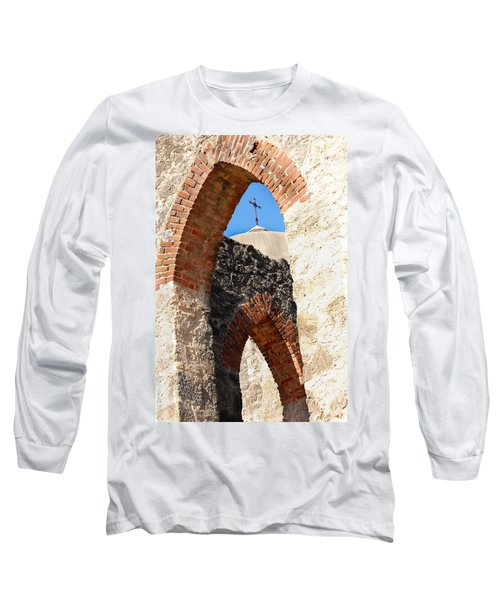 Long Sleeve T-Shirt featuring the photograph On A Mission by Debbie Karnes