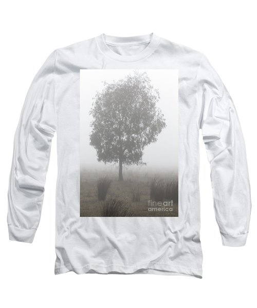 Long Sleeve T-Shirt featuring the photograph On A Winter's Morning by Linda Lees