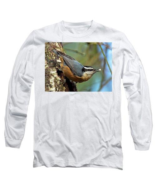 On Alert Long Sleeve T-Shirt by Sheldon Bilsker