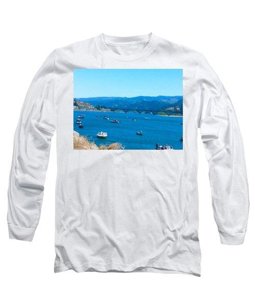 On Board For Fun  Long Sleeve T-Shirt