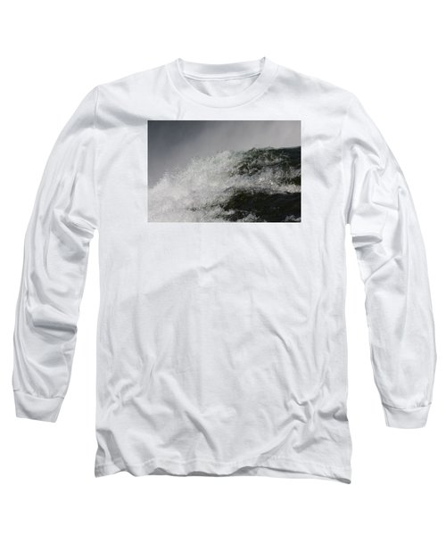 Long Sleeve T-Shirt featuring the photograph On Edge by Vadim Levin