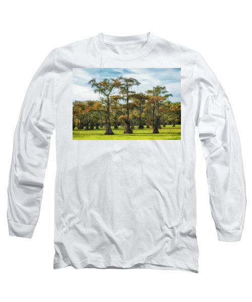 On Green Bayou Long Sleeve T-Shirt