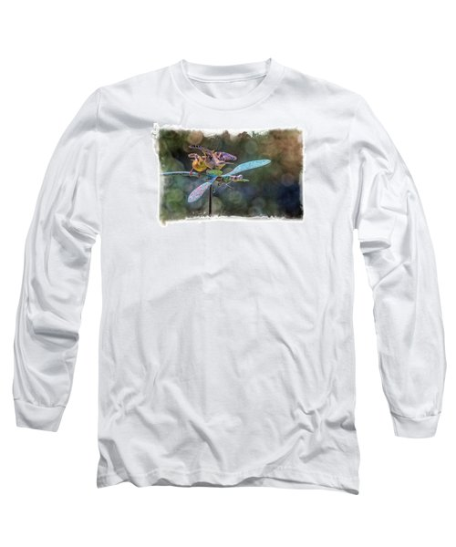 On The Back Of A Dragonfly Long Sleeve T-Shirt