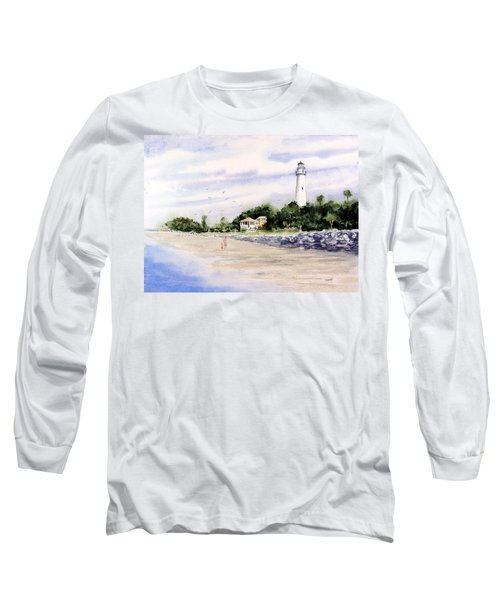 On The Beach At St. Simon's Island Long Sleeve T-Shirt
