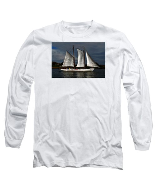 The A. J. Meerwald Long Sleeve T-Shirt by Richard Ortolano