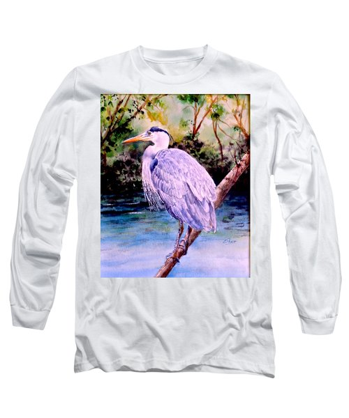 On The Lookout Long Sleeve T-Shirt by Sher Nasser