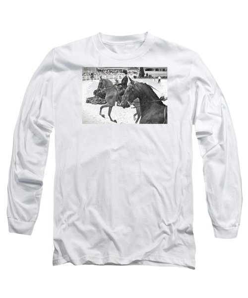 On The Outside Charcoal Long Sleeve T-Shirt by Alice Gipson