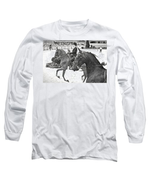 On The Outside Charcoal Long Sleeve T-Shirt