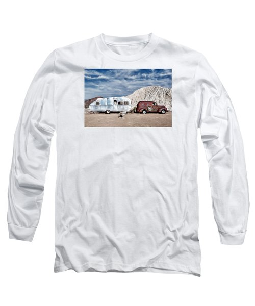 On The Road Again Long Sleeve T-Shirt by Renee Sullivan