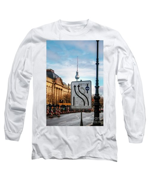 On The Road In Berlin Long Sleeve T-Shirt by Ana Mireles