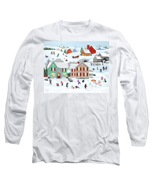 Once Upon A Winter Long Sleeve T-Shirt