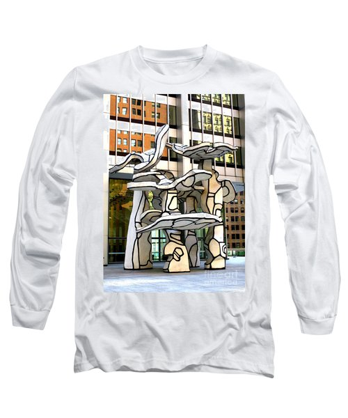 One Chase Manhattan Plaza 1 Long Sleeve T-Shirt