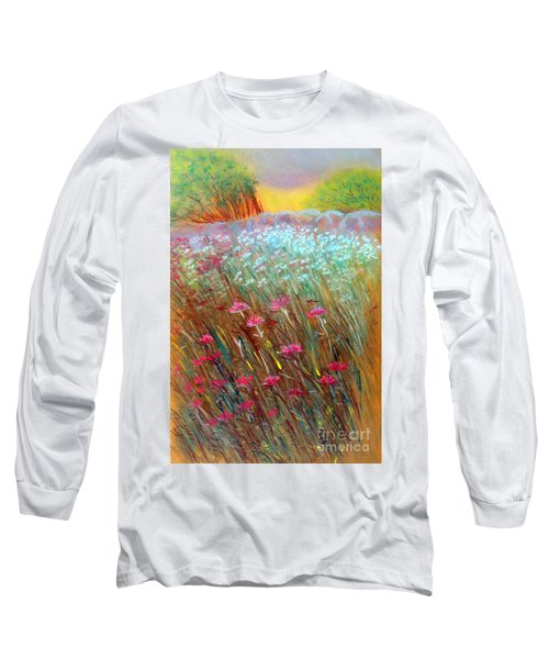 One Day In The Wild Long Sleeve T-Shirt by Jasna Dragun
