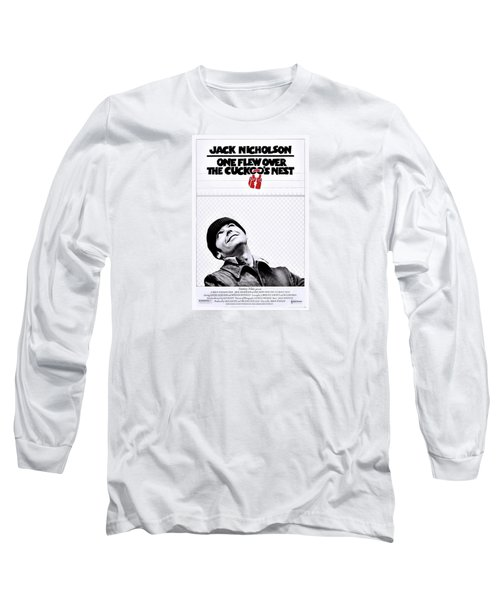 One Flew Over The Cuckoo's Nest Long Sleeve T-Shirt by Movie Poster Prints
