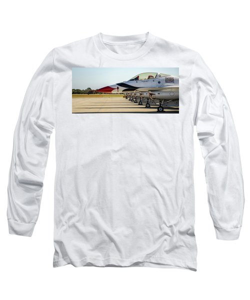 One Jet Or Seven Long Sleeve T-Shirt