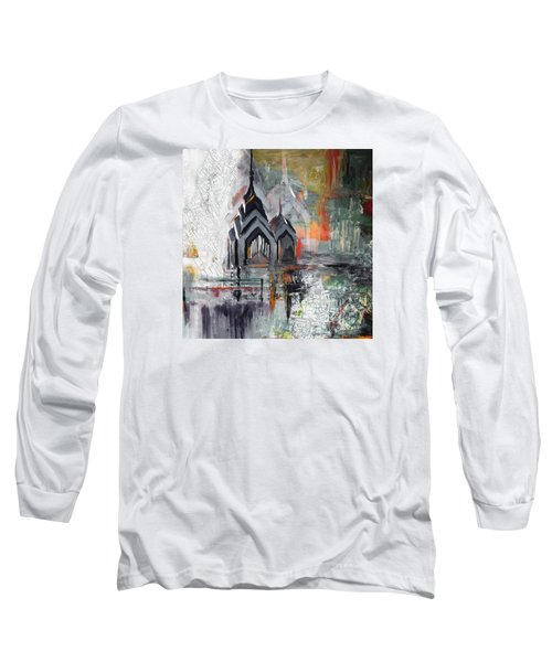 One Liberty Place And Two Liberty Place 229 3 Long Sleeve T-Shirt by Mawra Tahreem
