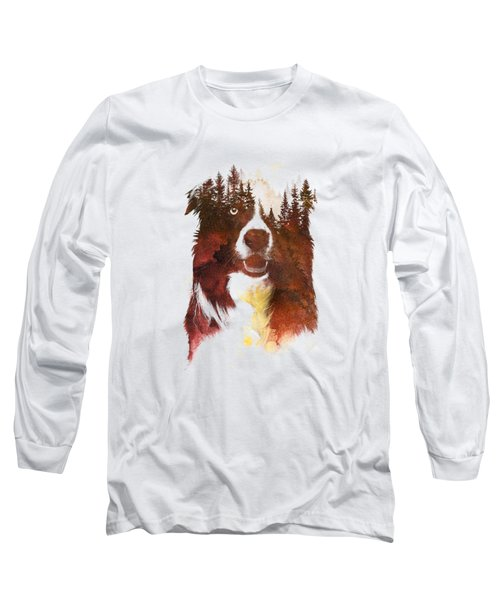 One Night In The Forest Long Sleeve T-Shirt