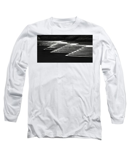 One Step At A Time Long Sleeve T-Shirt by Eduard Moldoveanu