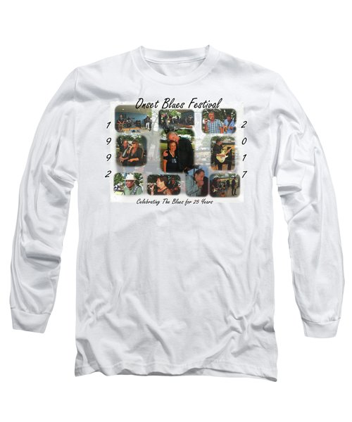 Onset Celebrates 25 Years Of Blues Long Sleeve T-Shirt