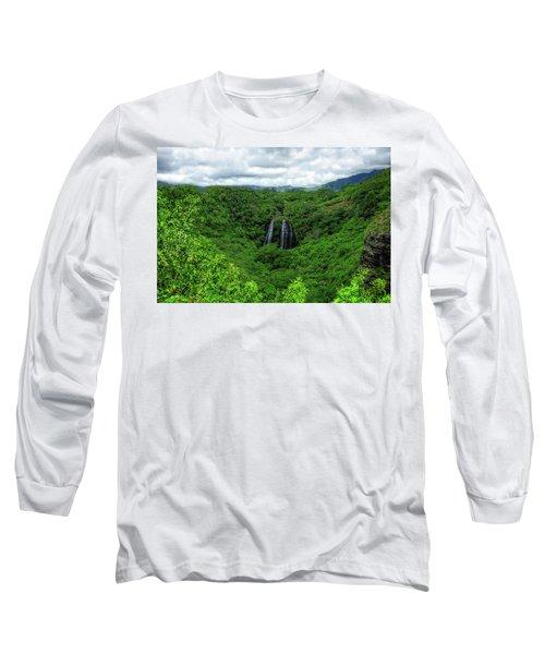 Opaeka Falls Long Sleeve T-Shirt