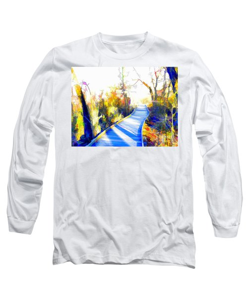 Open Pathway Meditative Space Long Sleeve T-Shirt